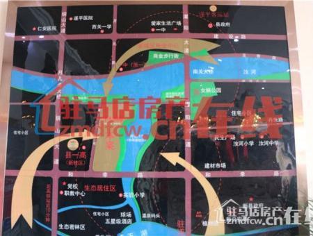 中禾英郡交通图