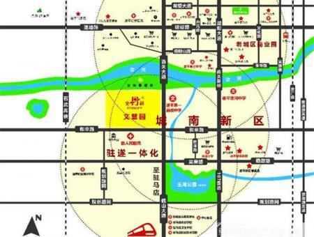 史丹利文慧园交通图